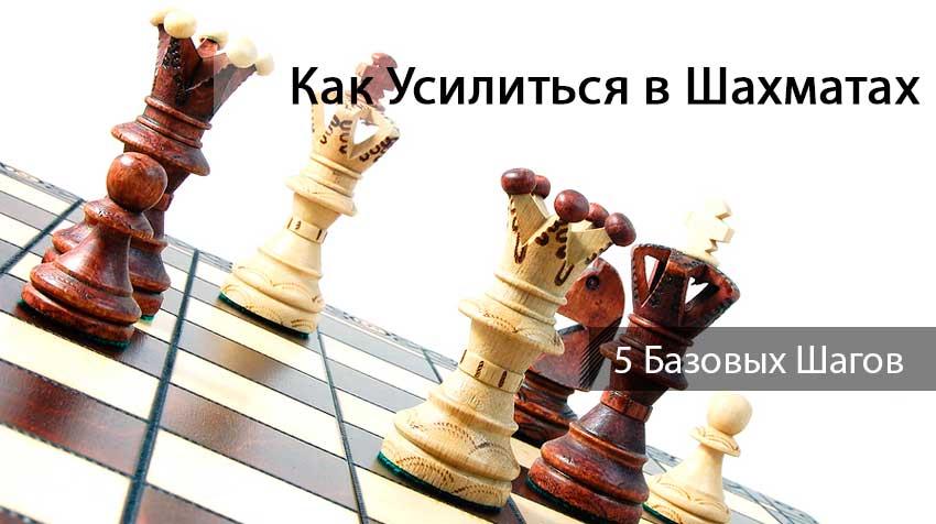 Как усилиться в шахматах: 5 базовых шагов
