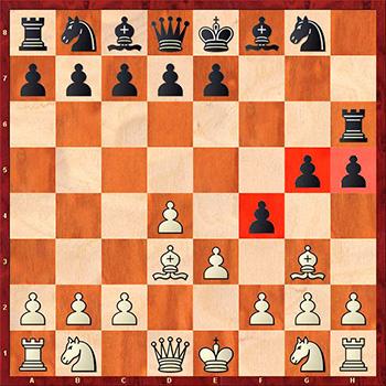 1 совет при атаке на короля в центре