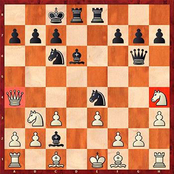 2 совет при атаке на короля в центре