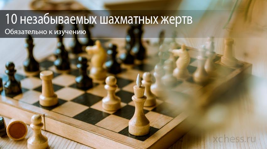 10 незабываемых шахматных жертв