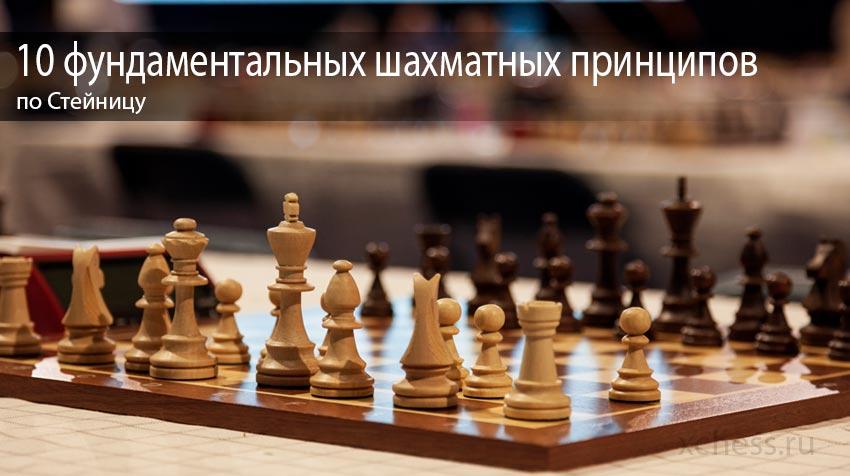 10 фундаментальных шахматных принципов по Стейницу