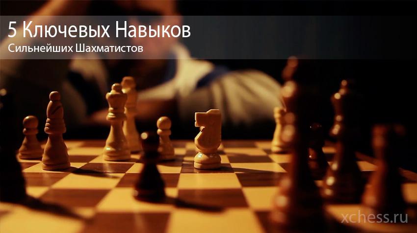 5 ключевых навыков сильнейших шахматистов