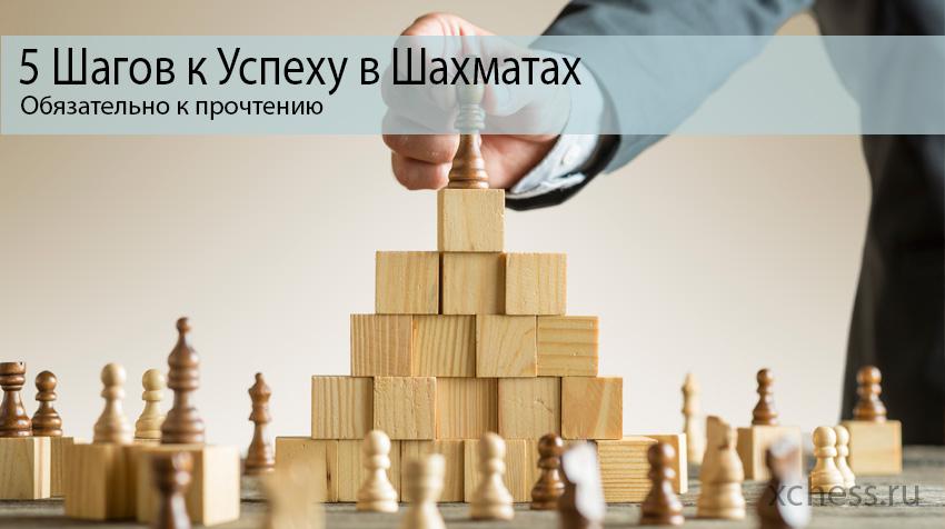 5 Шагов к успеху в шахматах
