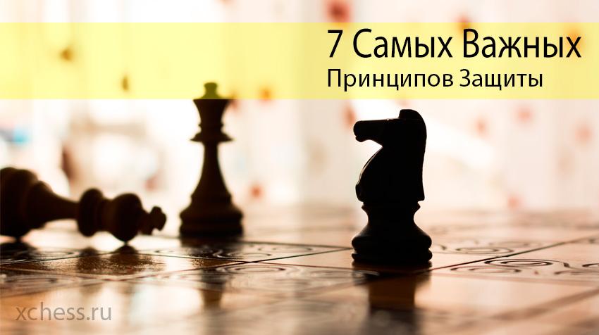 7 Самых важных принципов защиты