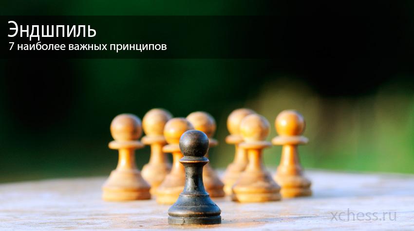 7 Наиболее важных принципов Шахматных окончаний
