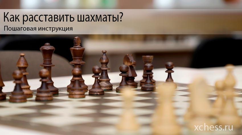Как расставить шахматы: Пошаговая инструкция