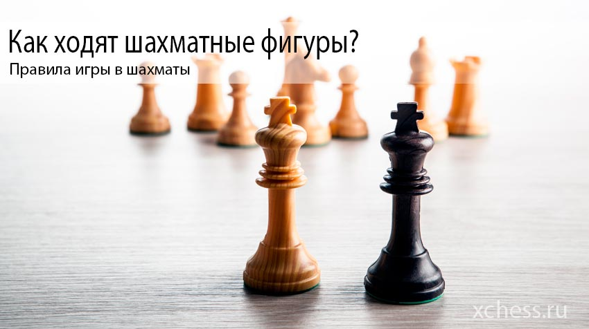 Как ходят шахматные фигуры?