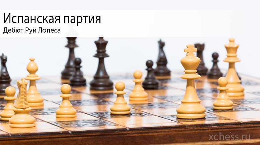 Испанская партия с гроссмейстером Михаилом Ройзом