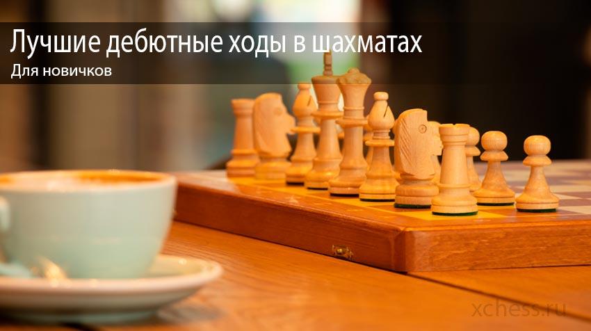 Лучшие дебютные ходы в шахматах для новичков