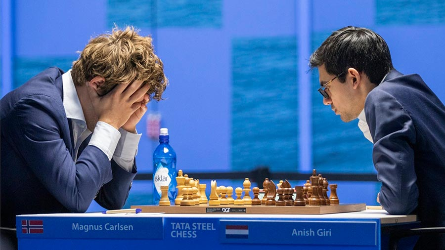 11 Тур. Шахматный турнир в Вейк-ан-Зее 2021 год