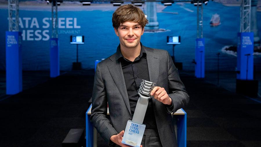13 Тур. Шахматный турнир в Вейк-ан-Зее 2021 год