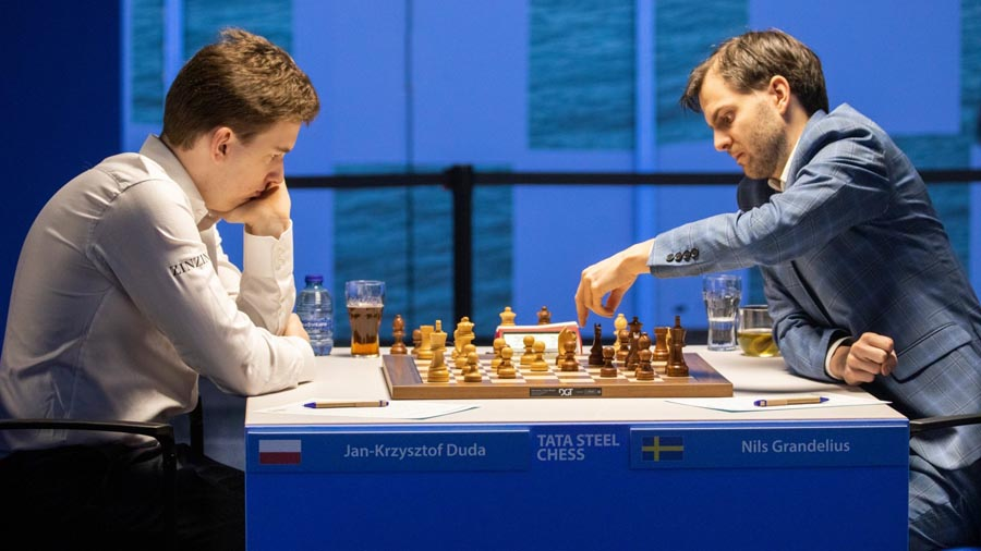 2 Тур. Шахматный турнир в Вейк-ан-Зее 2021 год
