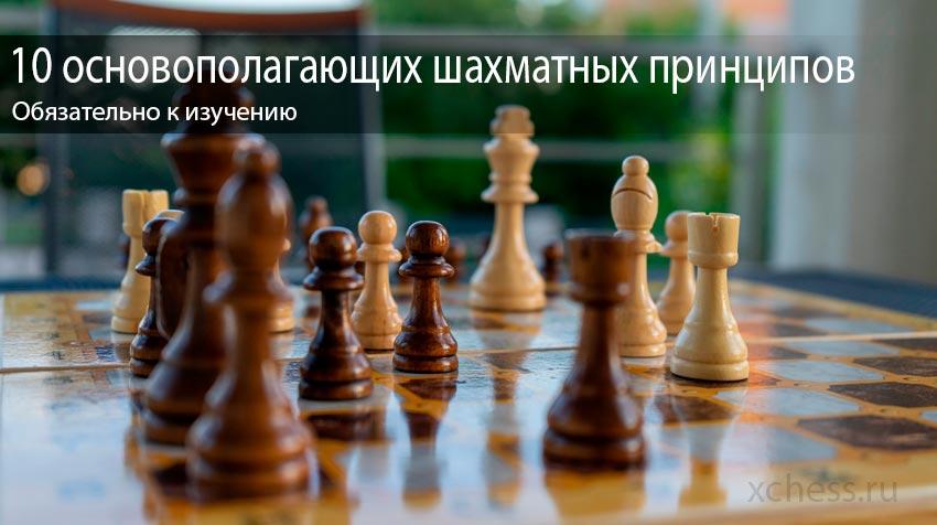 10 основополагающих шахматных принципов
