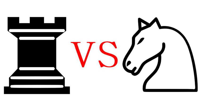 Ладья против Коня: 3 Важные Позиции