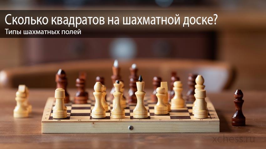 Сколько квадратов на шахматной доске?