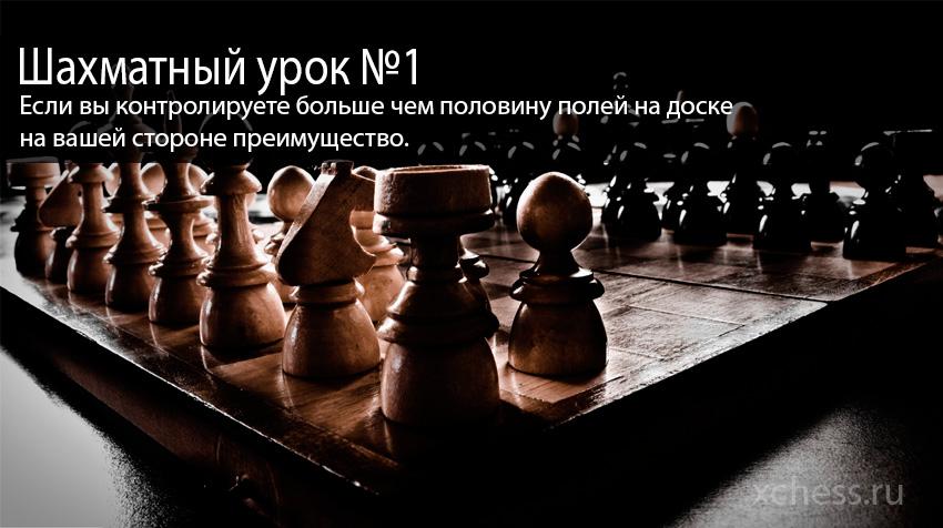 Шахматный урок №1