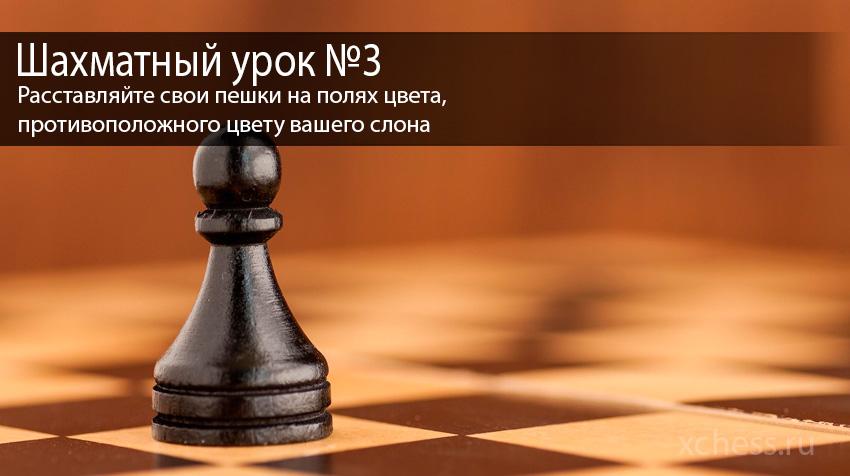 Шахматный урок №3