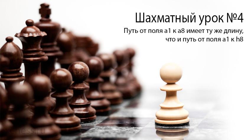 Шахматный урок №4