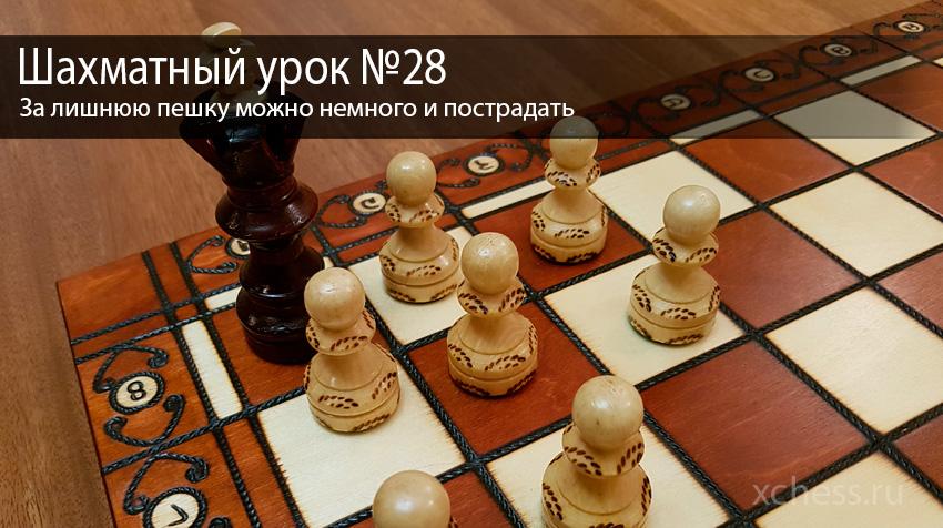 Шахматный урок №28
