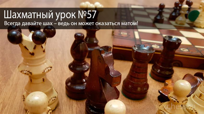 Шахматный урок №57