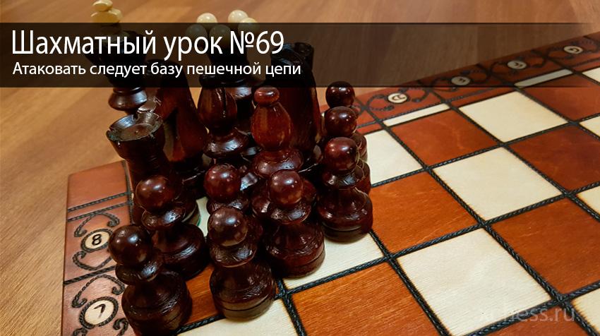 Шахматный урок №69
